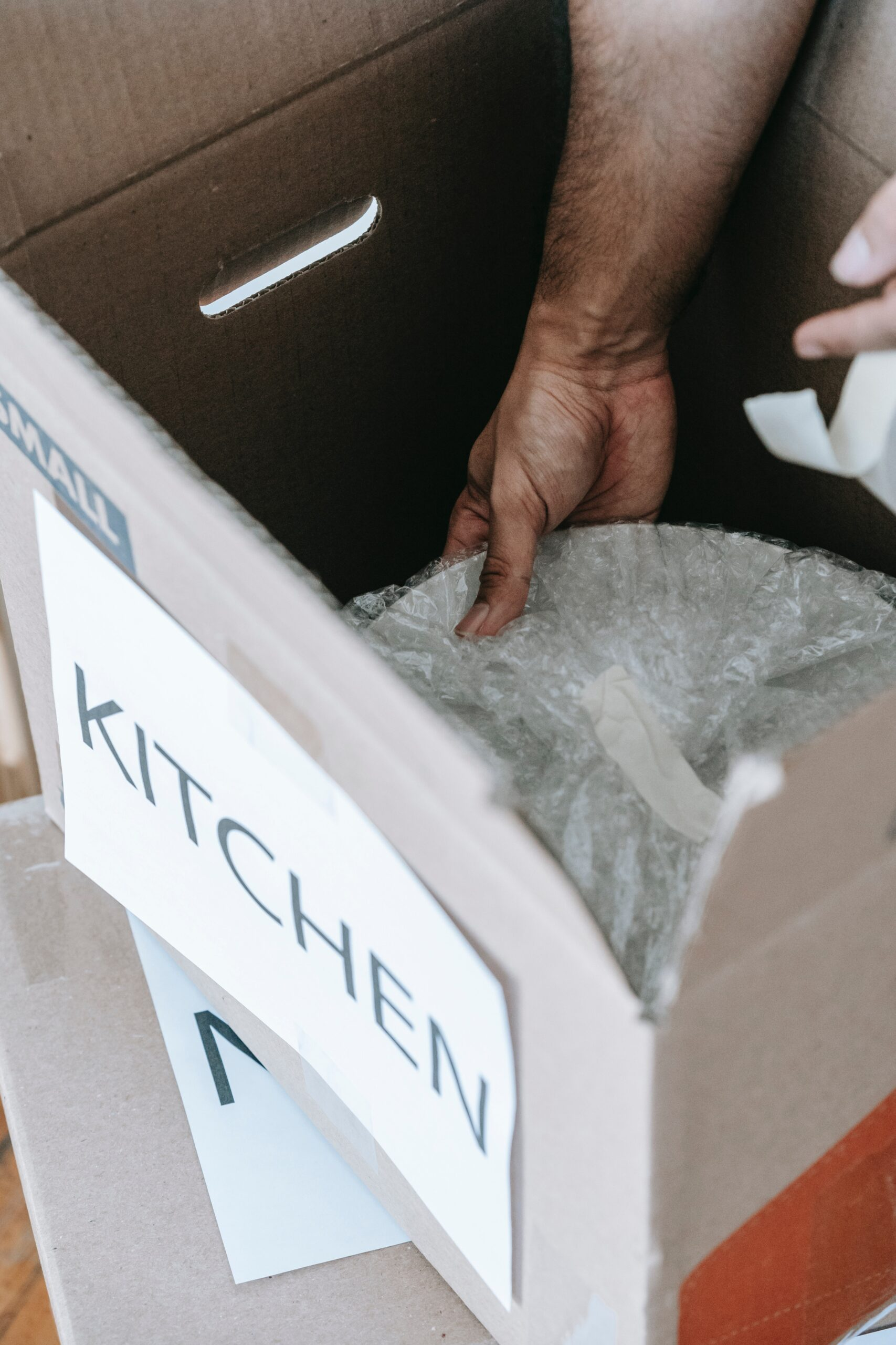kitchen items moving